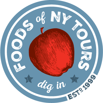 Foods of NY Tours Sticky Logo Retina