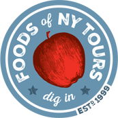 Foods of NY Tours Sticky Logo
